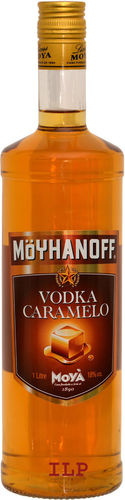 Vodka Caramelo Moya 1 l. 18% Vol.